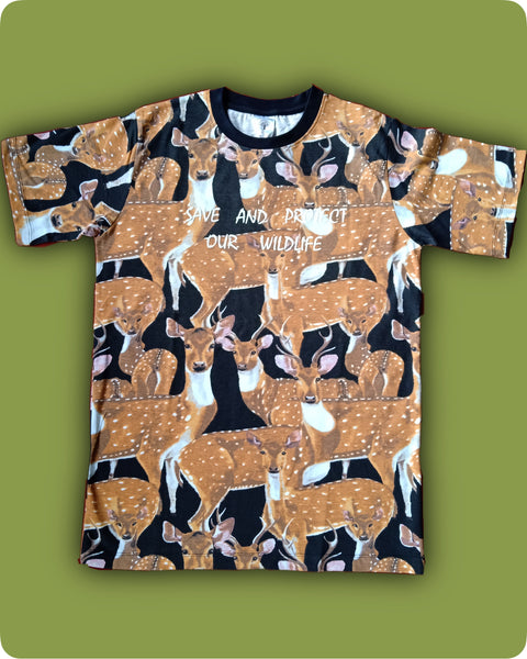 Chital All over printed T-Shirt