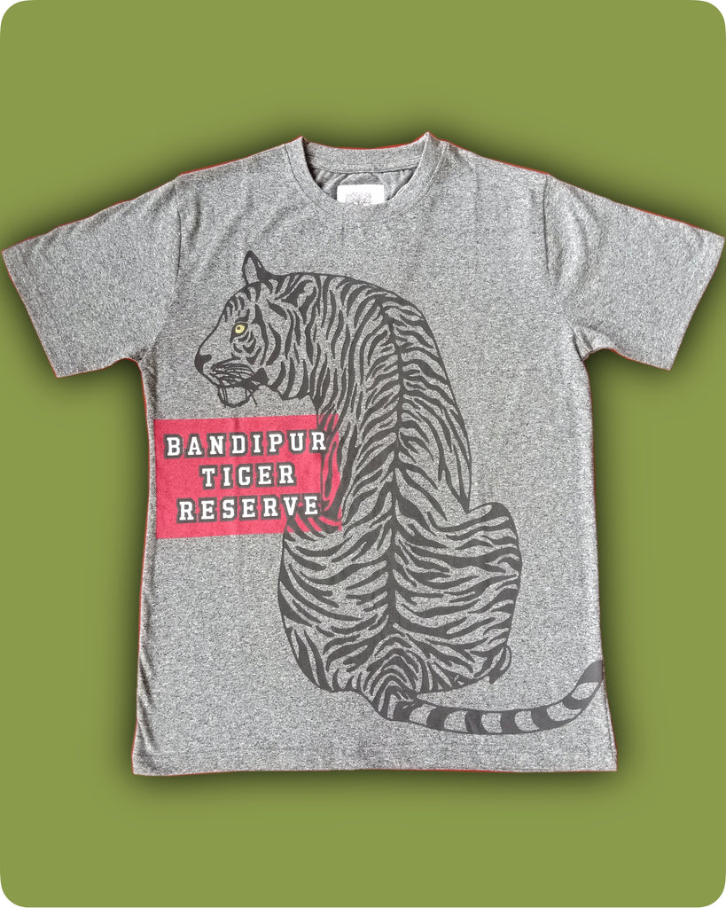 Grindle Long tiger printed T-Shirt - Adults
