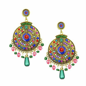 Boho Dangle Earring Ethnic Set