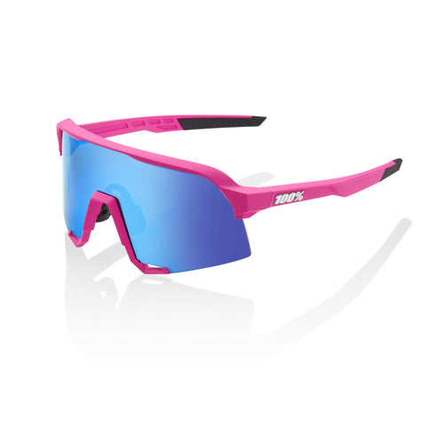 100% S3 Pink - HiPER Blue Multilayer Mirror Lens