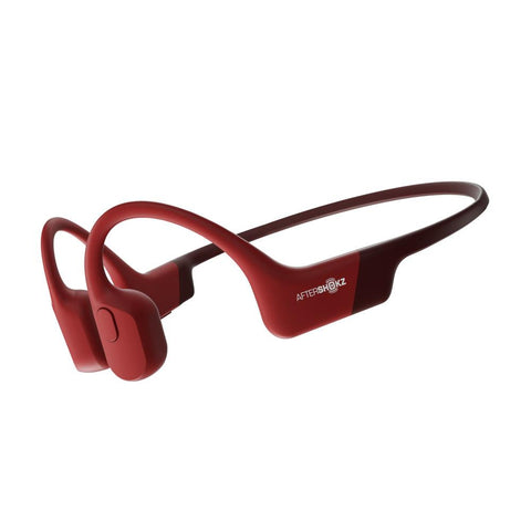 AFTERSHOKZ AEROPEX Wireless Bluetooth Headphones Solar Red
