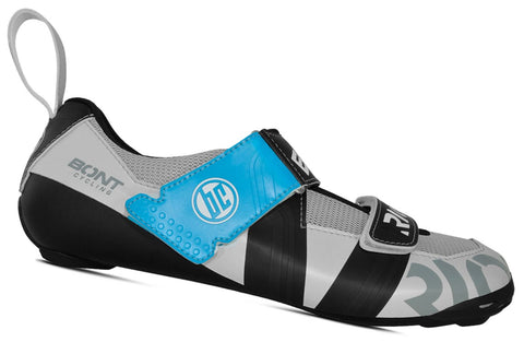 Bont Riot TR+ MicroFibre Triathlon Shoes Pearl White/Black