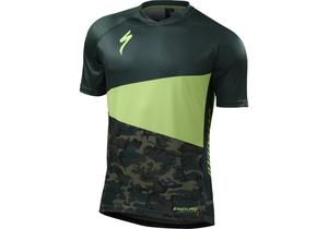 Specialized Enduro Comp Mens Short Sleeve Jersey Monster Green/Camo