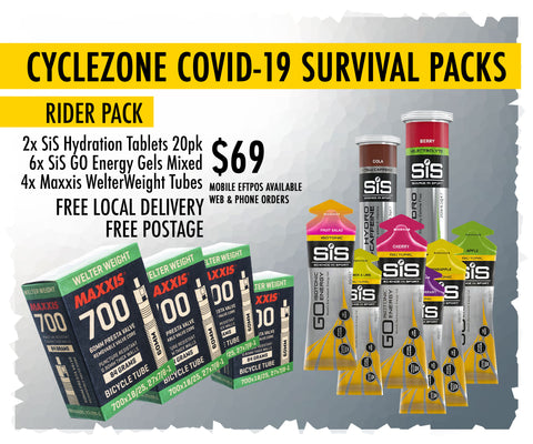 COVID-19 SURVIVAL RIDER PACK