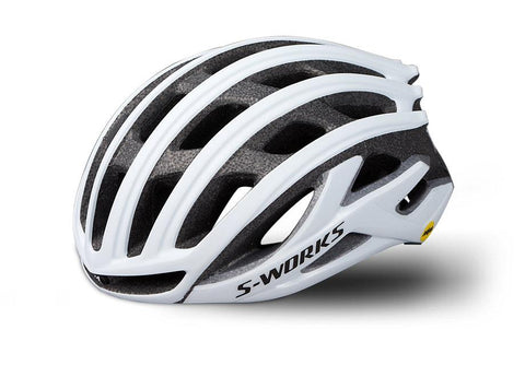 Specialized S-Works Prevail II with ANGI Matte White