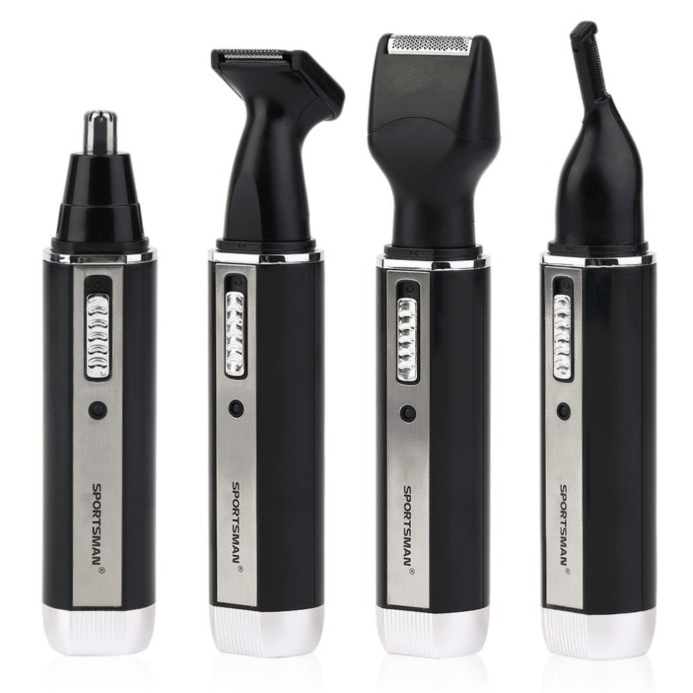 4 In 1 Personal Waterproof Rechargeable Electric Men Male Ear Nose Trimmer Hair Clipper Shaver Beard Trimmer Machine Top quality
