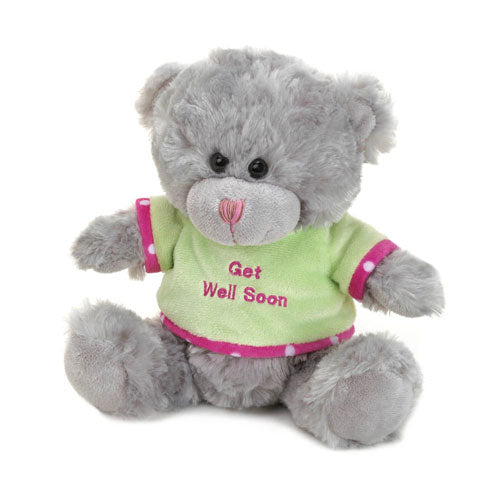 GET WELL SOON PLUSH BEAR - Happy-Go-Cart