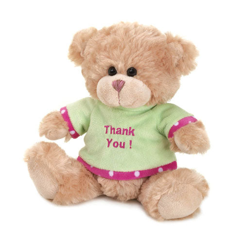 THANK YOU PLUSH BEAR - Happy-Go-Cart