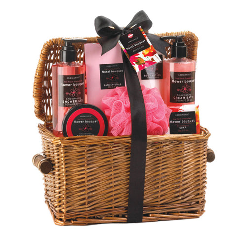 FLORAL BOUQUET SPA BASKET - Happy-Go-Cart