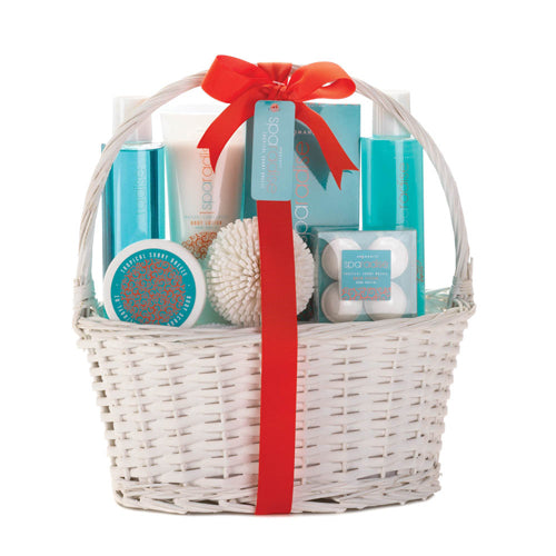 TROPICAL SUNNY BREEZE SPA BASKET - Happy-Go-Cart
