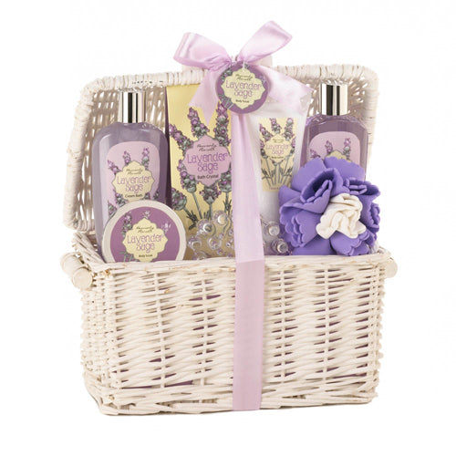 LAVENDER AND SAGE SPA SET - Happy-Go-Cart