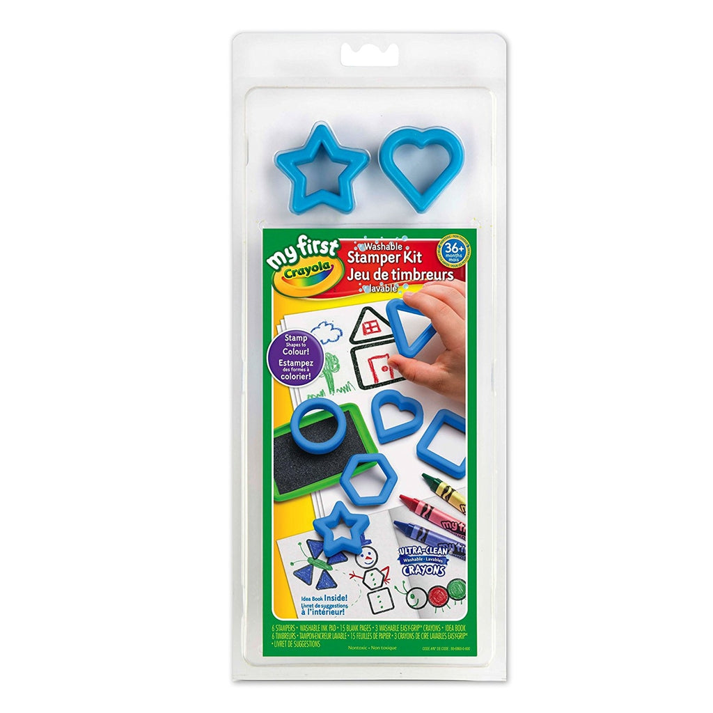 Crayola My First Washable Stamper Kit - Happy-Go-Cart