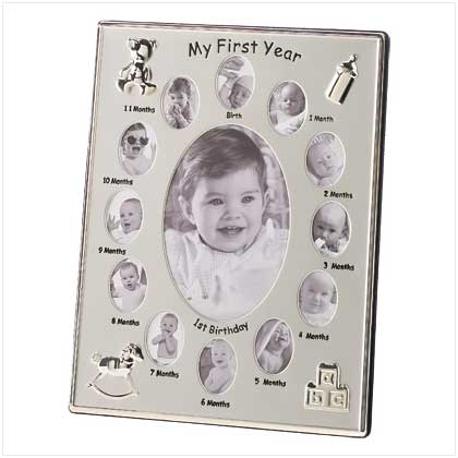 MY FIRST YEAR PHOTO FRAME - Happy-Go-Cart