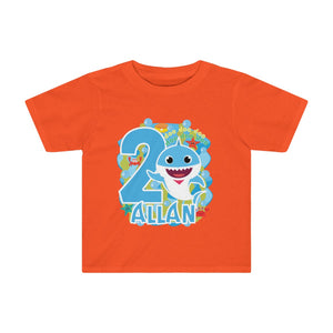 Baby Shark Birthday Toddler Tee