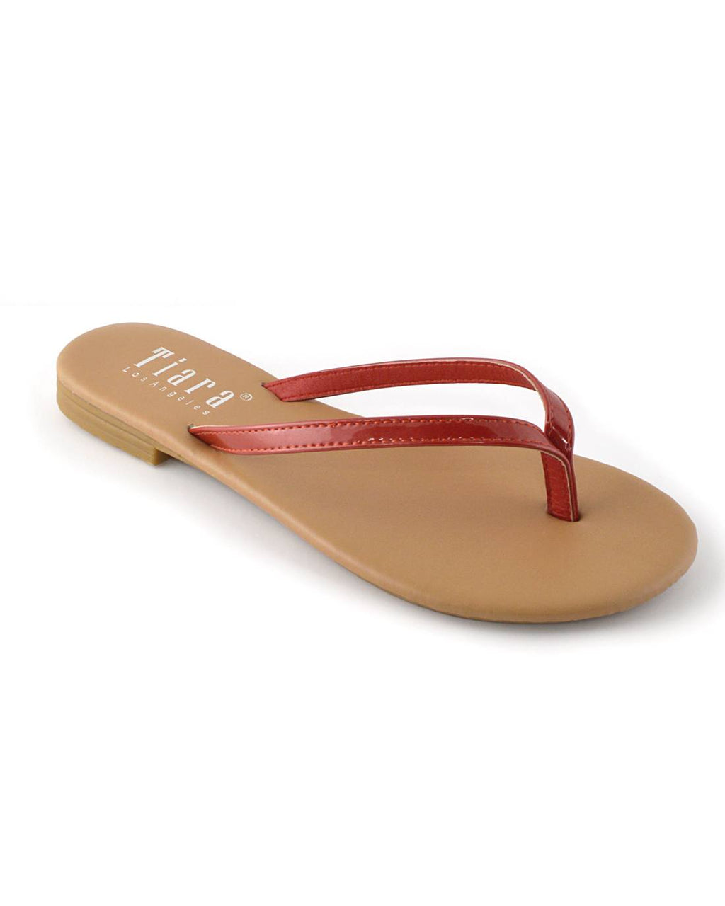 V-Shaped Flat Sandals - Happy-Go-Cart