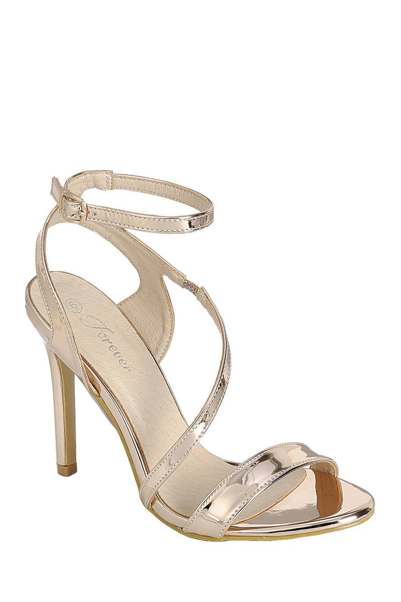 Ladies fashion high heel sandal, open almond toe, platform stiletto - Happy-Go-Cart