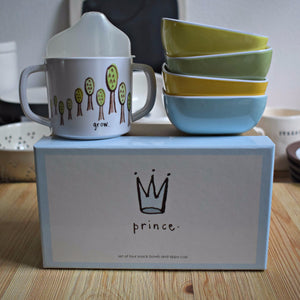 Prince/Princess Snack Set w/Gift Box - Happy-Go-Cart