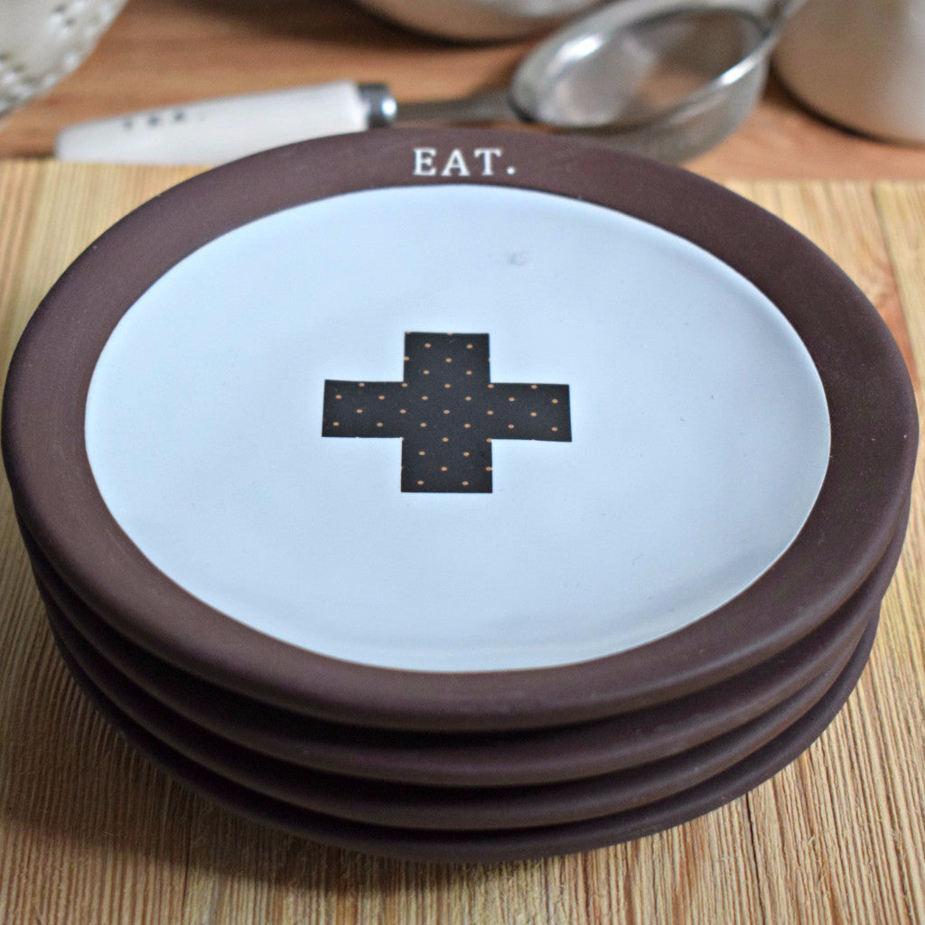 Chocolat EAT Small Plates, Set of 4 - Happy-Go-Cart