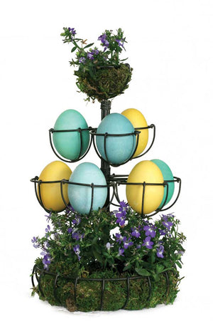 Egg Tree -Antique Black