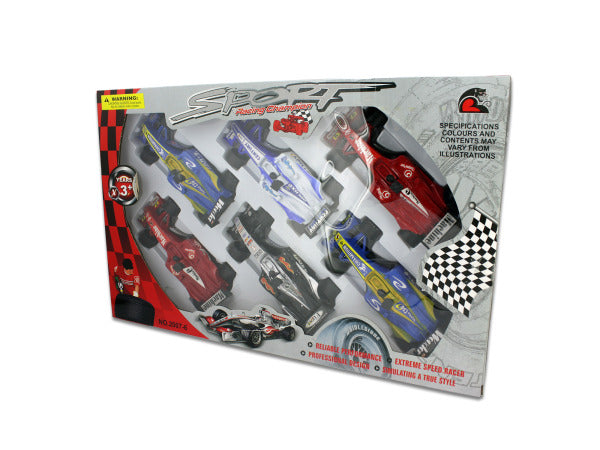 6 Pack super race cars - Happy-Go-Cart