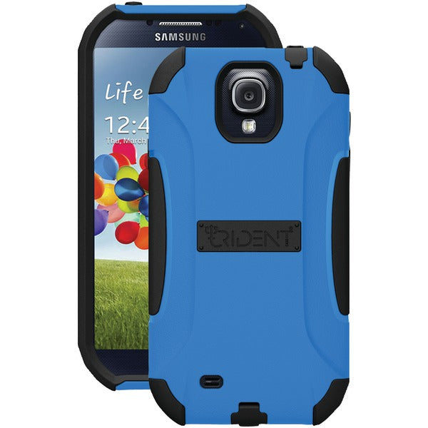 Trident(TM) Case AG-SAM-S4-BLU Aegis Series Case for Samsung(R) Galaxy S(R) 4 - Happy-Go-Cart