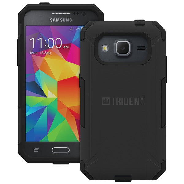 Trident(TM) Case AG-SSGXCP-BK000 Aegis Series Case for Samsung(R) Galaxy Core Prime(TM) (Black) - Happy-Go-Cart