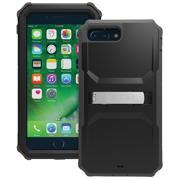 Trident(TM) Case KN-APIP7P-BK000 Kraken(R) A.M.S. Series Case with Holster for iPhone(R) 7 Plus (Black) - Happy-Go-Cart