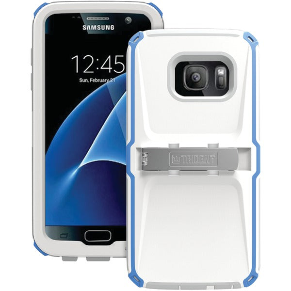 Trident(TM) Case KN-SSGSS7-BLWG0 Kraken(R) A.M.S. Series Case for Samsung(R) Galaxy S(R) 7 (Blue-White-Gray) - Happy-Go-Cart