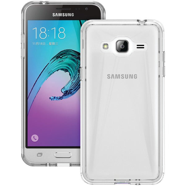 Trident(TM) Case KR-SSGXJ3-CLDUL Krios(R) Series Dual Case for Samsung(R) Galaxy J3(R) (Clear) - Happy-Go-Cart