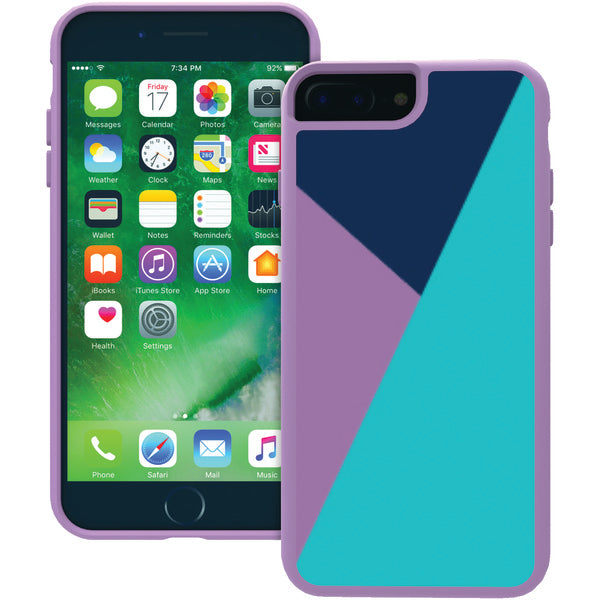 Trident(TM) Case SAI7PZ3 Style Series Case for iPhone(R) 7 Plus-7s Plus (Lilac Purple) - Happy-Go-Cart