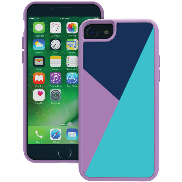 Trident(TM) Case SAIH7Z3 Style Series Case for iPhone(R) 7-7s (Lilac Purple) - Happy-Go-Cart