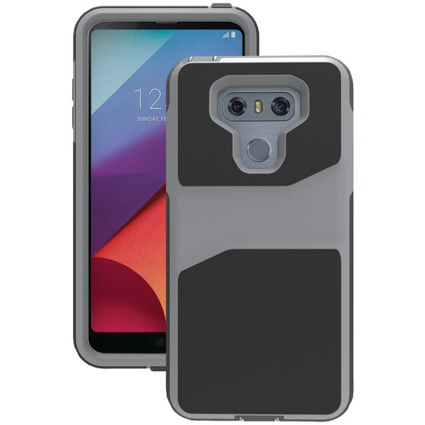 Trident(TM) Case WLGG6G1 Warrior Case for LG(R) G6(R) (Tin Man Gray) - Happy-Go-Cart