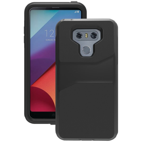 Trident(TM) Case WLGG6K0 Warrior Case for LG(R) G6(R) (Black) - Happy-Go-Cart