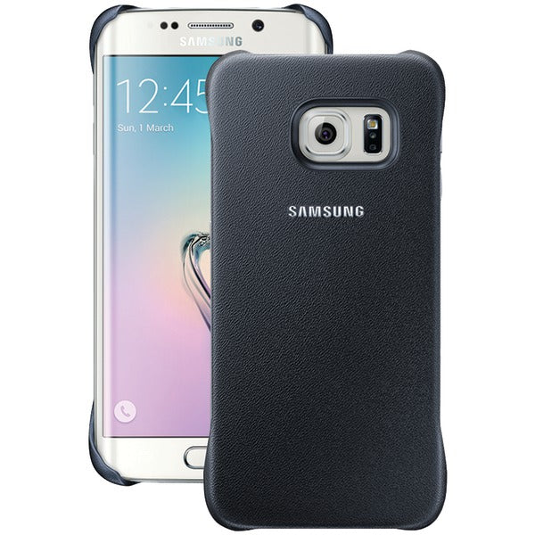 Samsung(R) 34-2891-05-XP Protective Cover for Samsung(R) Galaxy S(R) 6 edge (Black Sapphire) - Happy-Go-Cart