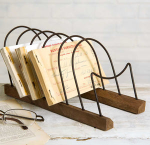 Primitive Letter Holder