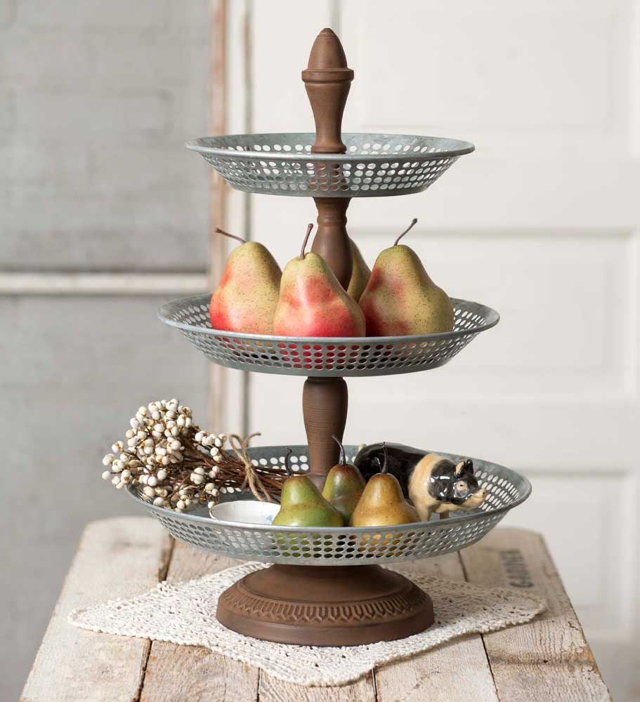 Three Tier Annabeth Tray