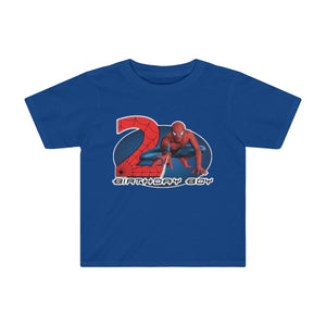 Spiderman Birthday T-shirt - Personalized Birthday Shirts - Spider Man Theme Shirts - Birthday Boy Shirts