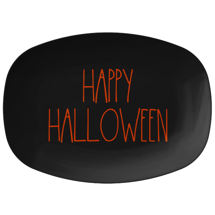 "Large Letter  ""HAPPY HALLOWEEN"" Halloween Serving Platter"