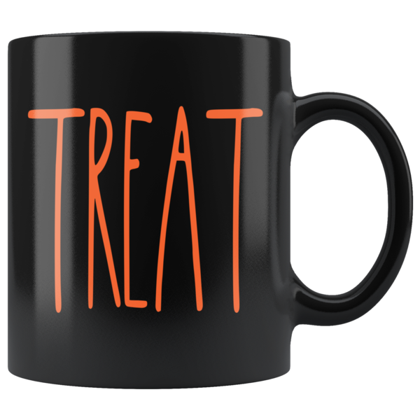 """TREAT"" Rae Dunn INSPIRED Halloween MUG"