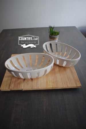 Stem Print BREAD Basket