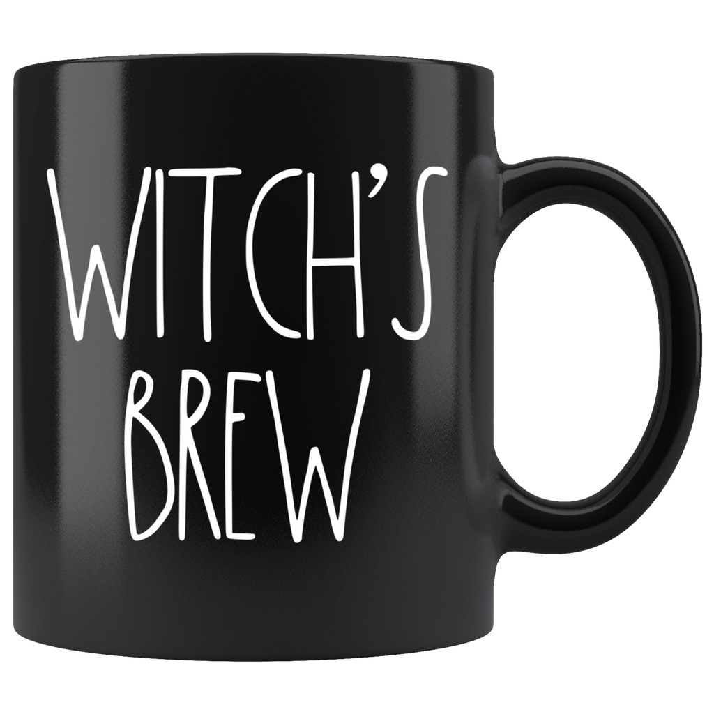 "Rae Dunn-INSPIRED ""WITCH'S BREW"" Halloween Mug"