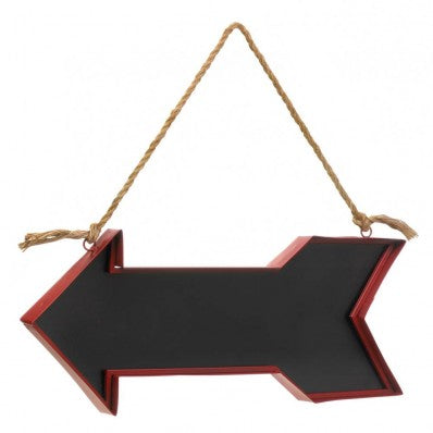 Red Arrow Chalk Message Board - Happy-Go-Cart