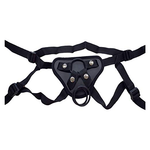 "PU Leather Strap on Harness with 5"" Dildo"
