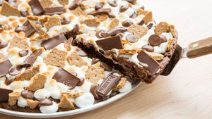 S'mores Brownie Pizza by Betty Crocker