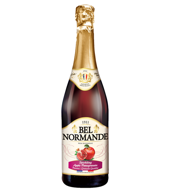Bel Normande Pomegranate Apple Spritzer 750Ml