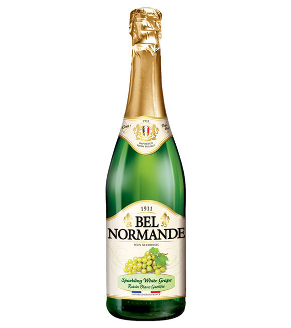 Bel Normande Sparkling White Grape Juice 750Ml