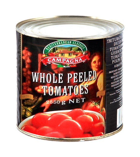 Campagna Whole Peeled Tomatoes 2.55Kg