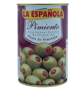 La Espanola Pimiento Stuffed Green Olives In Brine 300G