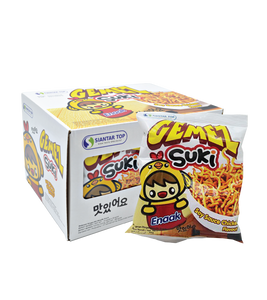 Gemez Suki Noodle Snack Soy Sauce And Chicken Flavor 30g