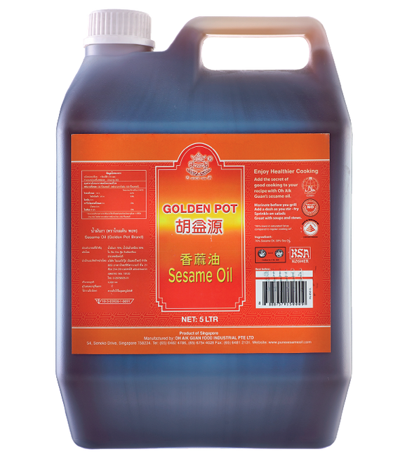 Golden Pot Sesame Oil 5L